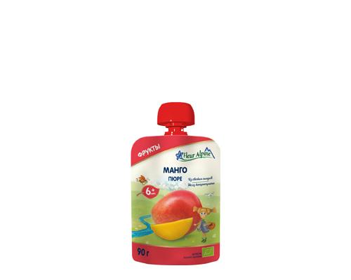 Пюре детское из манго, с 6 месяцев, 90 г