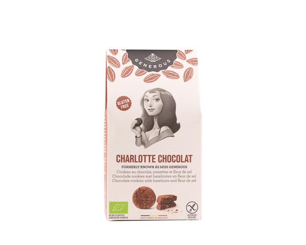 Печенье с бельгийским шоколадом, фундуком и солью, 120 г