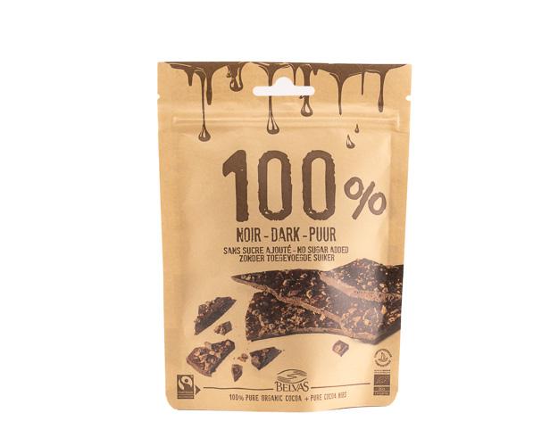 Шоколад темный с органическим какао, 80 г