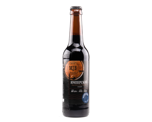Пиво MJB Имперский Стаут темный эль, 0,33 л