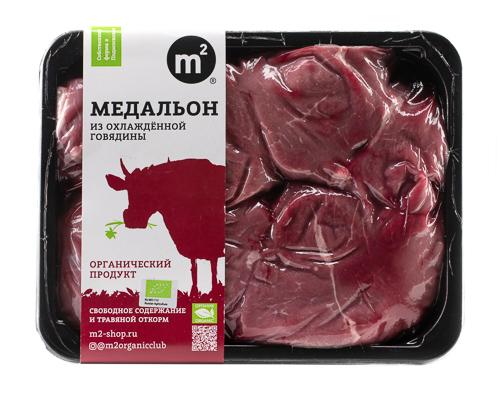 Медальон говяжий из охлажденного мяса