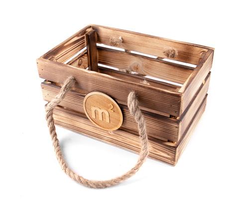 Ящик деревянный для подарков