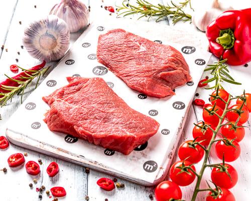 Шницель телячий из охлажденного мяса