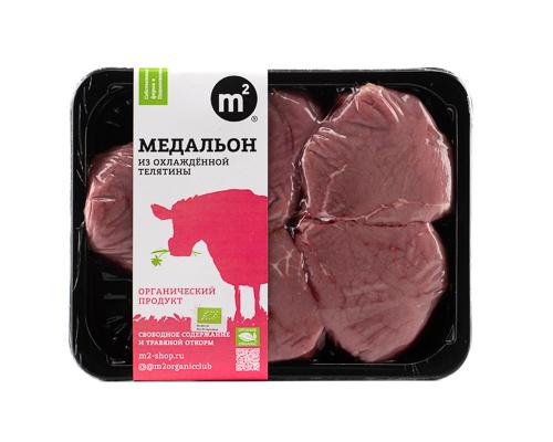 Медальон телячий из охлажденного мяса