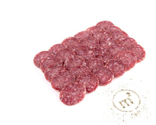 Колбаса Апшеронская сырокопченая, в нарезке