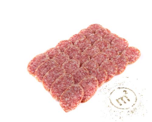 Колбаса Классическая с тмином сырокопченая, в нарезке