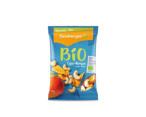 Смесь кешью и манго без сахара и соли, 110 г