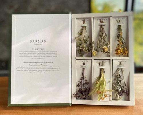 """Чайный набор """"Книга"""" из 6 видов трав, 40 г"""