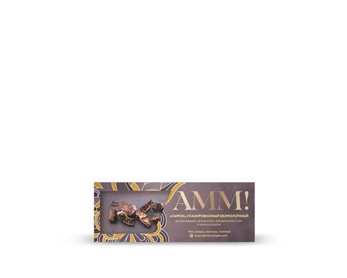 Сырок глазированный безмолочный, шоколадный, с фундуком, 40 г
