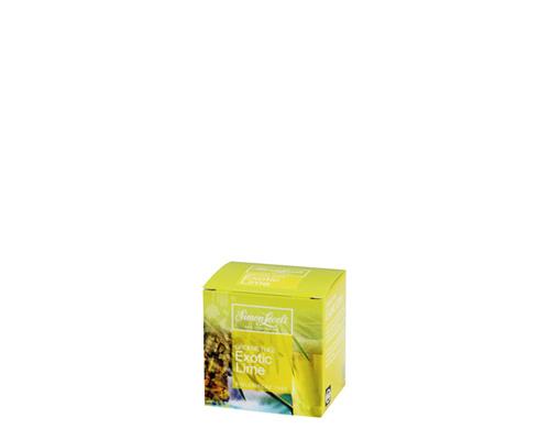 Чай зеленый экзотический лайм, пакетированный, 17,5 г