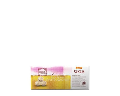 Конфеты из фиников с кунжутом, 120 г
