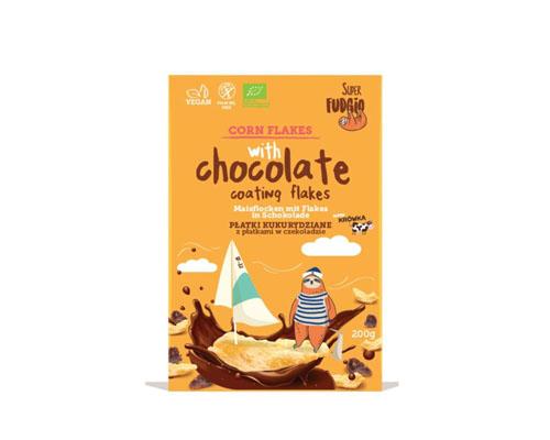 Хлопья кукурузные в шоколаде, 200 г